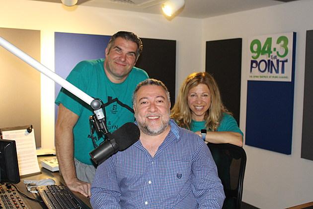 Joe Leone with Lou & Liz (Townsquare Media)