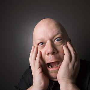 a bald guy