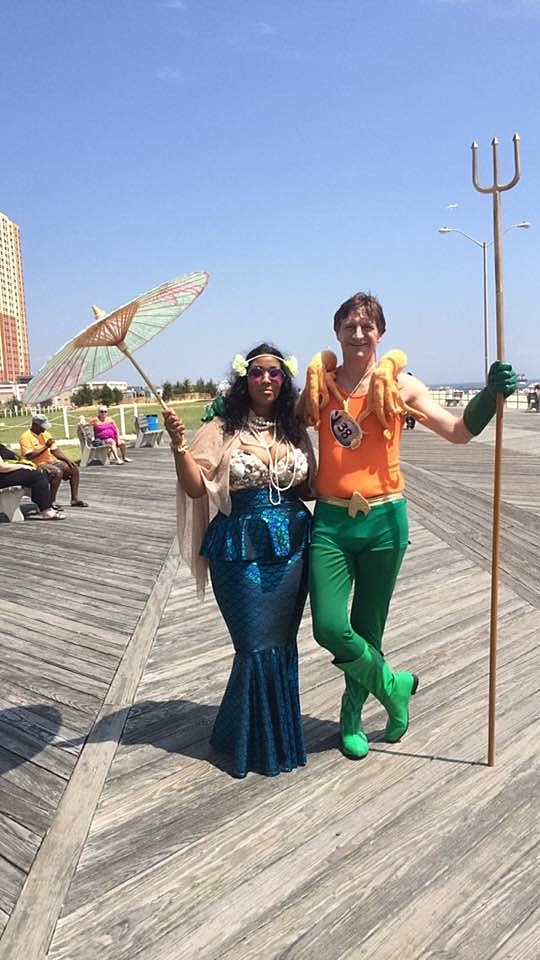 (Asbury Park Promenade of Mermaids)