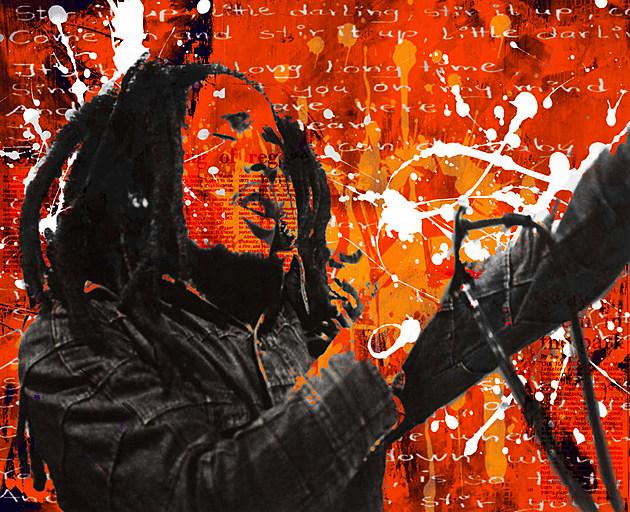 (Jared's Bob Marley, photo courtesy of Michael Cassiliano)