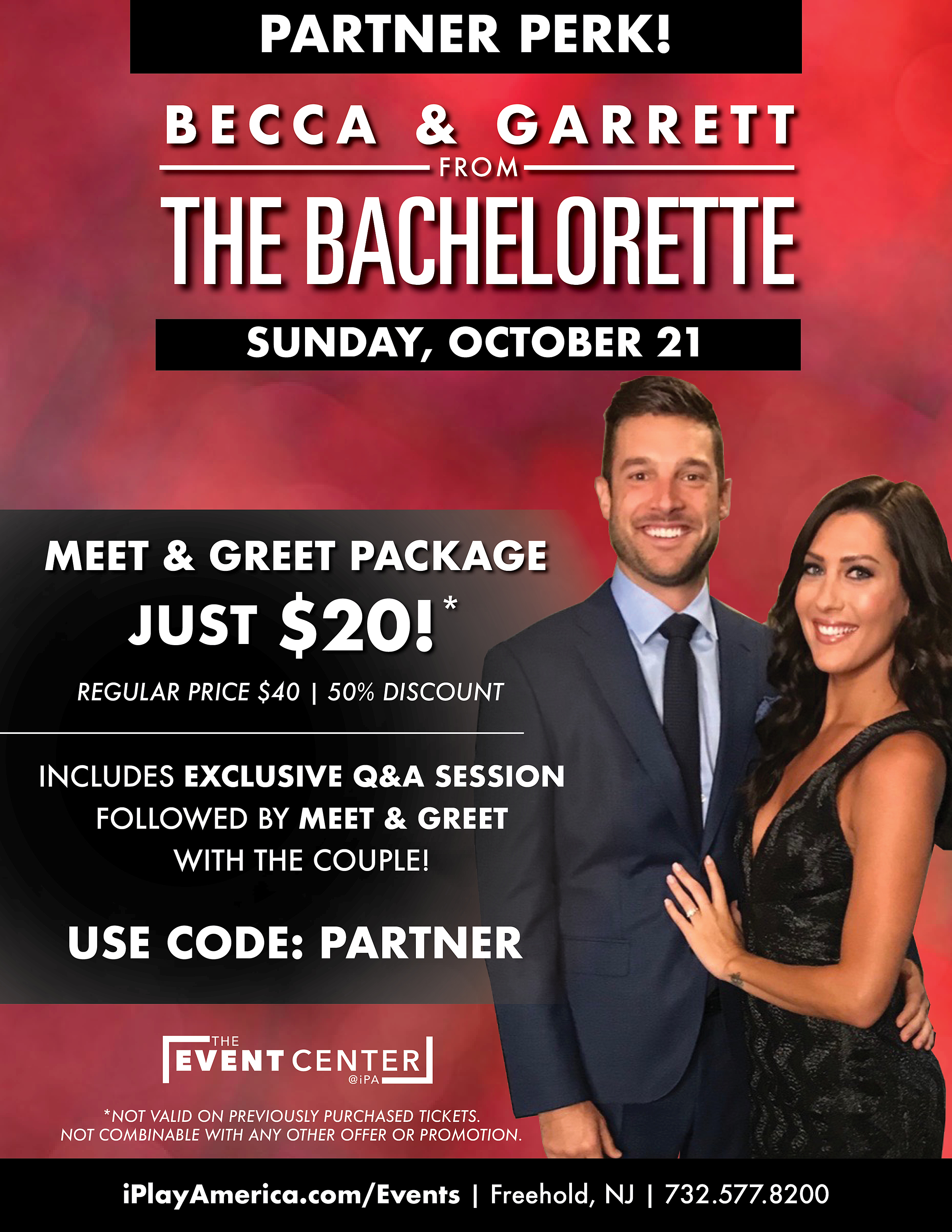 Win A Meet Greet With The Bachlorettes Becca Garret